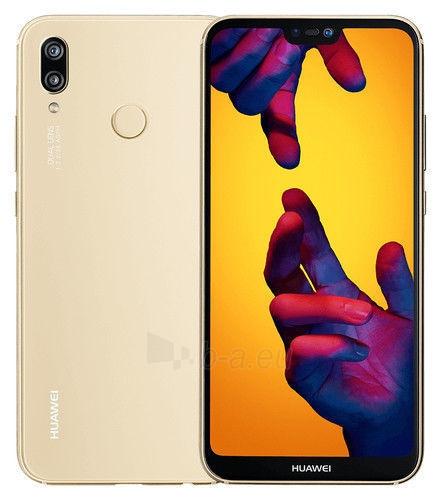 Išmanusis telefonas Huawei P20 Lite Dual 64GB platinum gold (ANE-LX1) Paveikslėlis 1 iš 2 310820155388