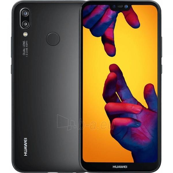 Išmanusis telefonas Huawei P20 Lite Juodas Paveikslėlis 1 iš 1 310820156307