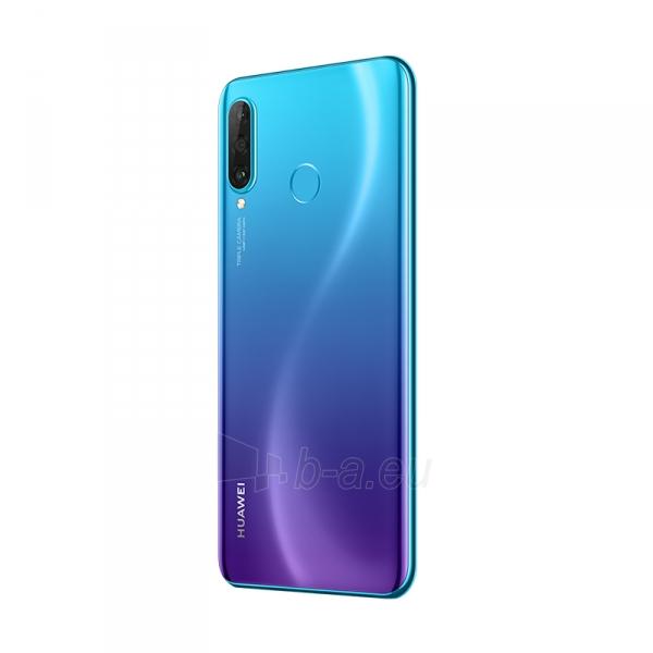 Išmanusis telefonas Huawei P30 Lite Dual 128GB peacock blue (MAR-LX1A) Paveikslėlis 5 iš 6 310820181100
