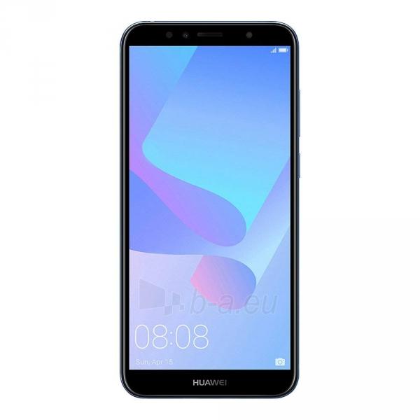 Išmanusis telefonas Huawei Y6 (2018) Dual 16GB blue (ATU-L21) Paveikslėlis 1 iš 7 310820155340