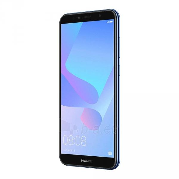 Išmanusis telefonas Huawei Y6 (2018) Dual 16GB blue (ATU-L21) Paveikslėlis 3 iš 7 310820155340