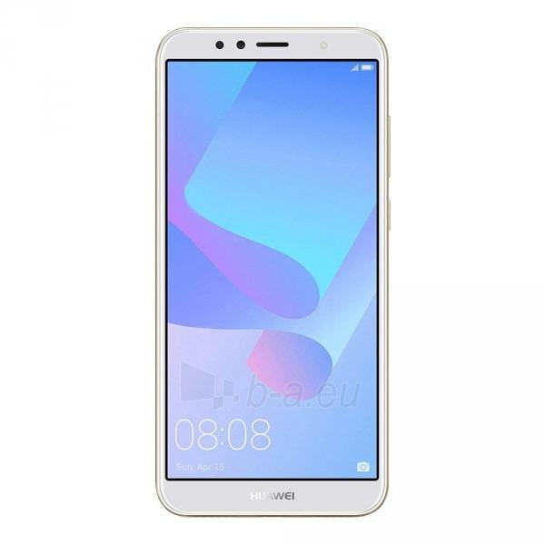 Išmanusis telefonas Huawei Y6 (2018) Dual 16GB gold (ATU-L21) Paveikslėlis 1 iš 6 310820155339