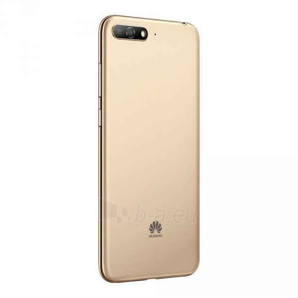Išmanusis telefonas Huawei Y6 (2018) Dual 16GB gold (ATU-L21) Paveikslėlis 2 iš 6 310820155339