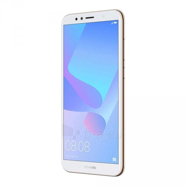Išmanusis telefonas Huawei Y6 (2018) Dual 16GB gold (ATU-L21) Paveikslėlis 4 iš 6 310820155339