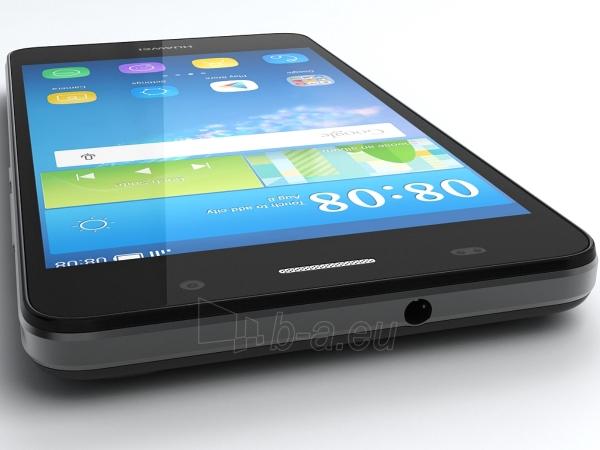 Smart phone Huawei Y6 black (SCL-L01) Paveikslėlis 2 iš 5 310820166026