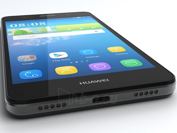 Smart phone Huawei Y6 black (SCL-L01) Paveikslėlis 3 iš 5 310820166026