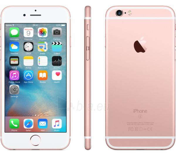 Smart phone iPhone 6s 32GB Rose Gold Paveikslėlis 1 iš 2 310820047432