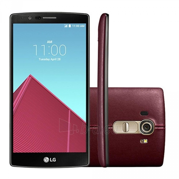 Smart phone LG H818p G4 32GB Dual leather red USED Paveikslėlis 3 iš 4 310820230167