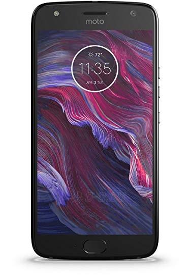 Išmanusis telefonas Motorola XT1900-7 Moto X4 Dual 32GB super black Paveikslėlis 1 iš 4 310820166034