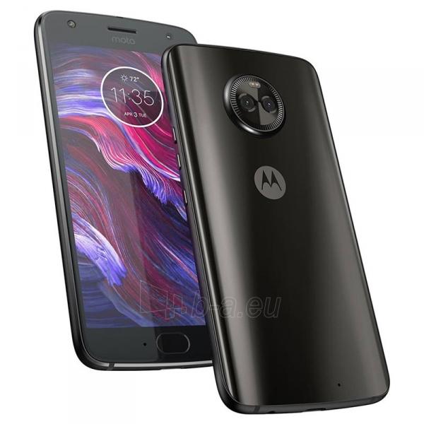 Išmanusis telefonas Motorola XT1900-7 Moto X4 Dual 32GB super black Paveikslėlis 3 iš 4 310820166034
