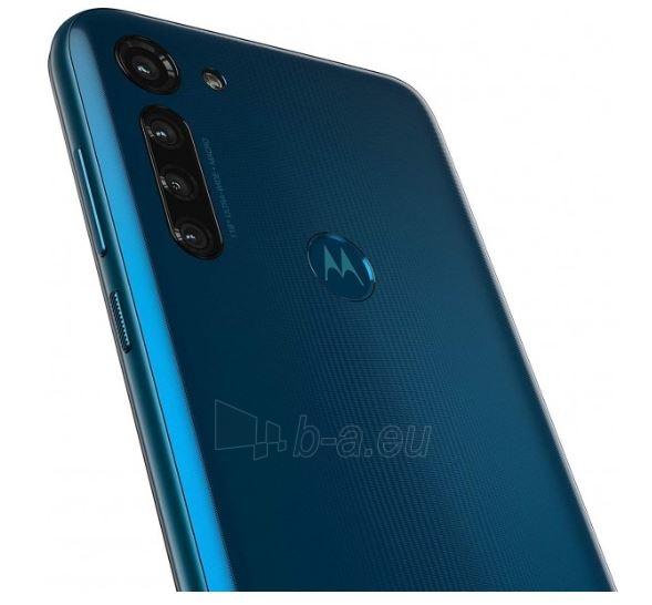 Mobilais telefons Motorola XT2041-3 Moto G8 Power Dual 64GB capri blue Paveikslėlis 6 iš 6 310820215795