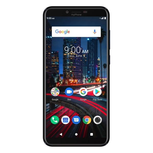 Mobilais telefons MyMobilais telefons City2 Dual black Paveikslėlis 1 iš 5 310820197864