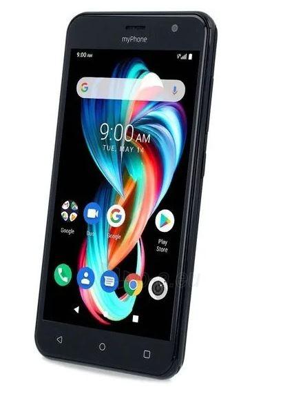 Mobilais telefons MyMobilais telefons FUN 6 Dual black Paveikslėlis 3 iš 6 310820225299
