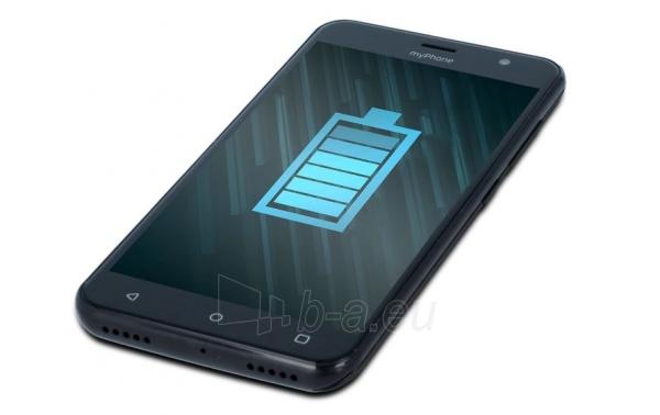 Mobilais telefons MyMobilais telefons FUN 6 Dual black Paveikslėlis 6 iš 6 310820225299