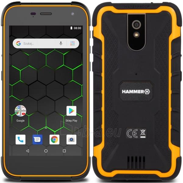 Mobilais telefons MyMobilais telefons HAMMER Active2 Dual black + orange Paveikslėlis 1 iš 3 310820197866