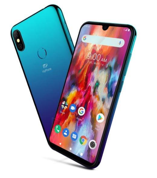 Mobilais telefons MyMobilais telefons Pocket Pro Dual blue saphire Paveikslėlis 2 iš 3 310820197869