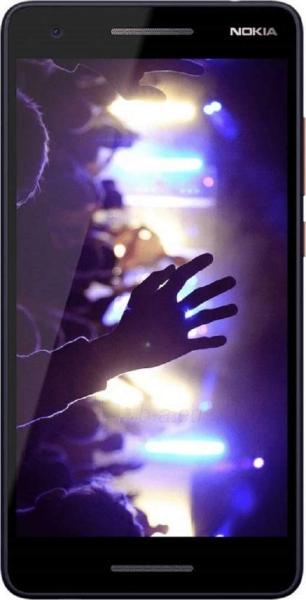Išmanusis telefonas Nokia 2.1 Dual grey silver Paveikslėlis 1 iš 3 310820160587