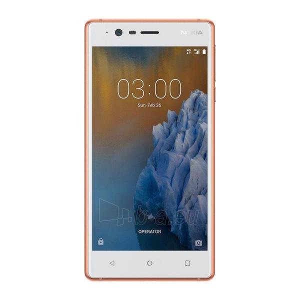Išmanusis telefonas Nokia 3 Dual copper white 16GB Paveikslėlis 1 iš 5 310820167726