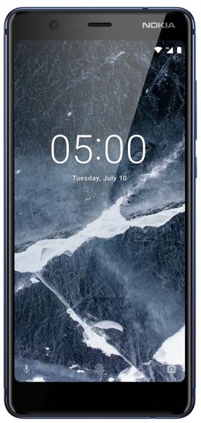 Mobilais telefons Nokia 5.1 Plus Dual 32GB blue Paveikslėlis 1 iš 3 310820160764