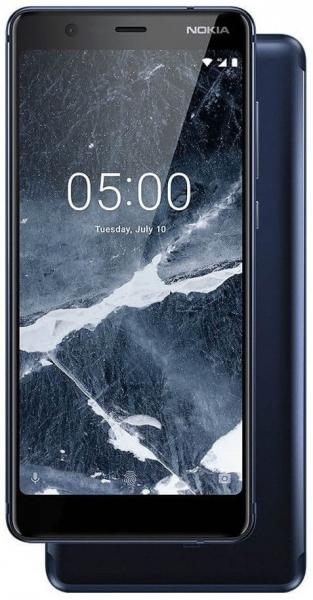 Mobilais telefons Nokia 5.1 Plus Dual 32GB blue Paveikslėlis 2 iš 3 310820160764