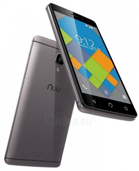 Išmanusis telefonas Nuu Mobile A4L Dual 8GB grey Paveikslėlis 2 iš 4 310820155667