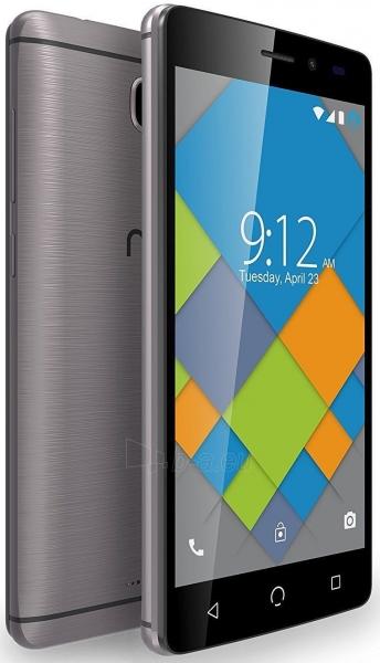 Išmanusis telefonas Nuu Mobile A4L Dual 8GB grey Paveikslėlis 3 iš 4 310820155667