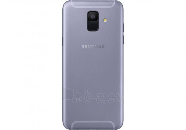 Išmanusis telefonas Samsung A600FN/DS Galaxy A6 Dual 32GB lavender Paveikslėlis 2 iš 5 310820160769