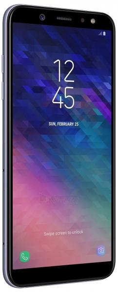 Išmanusis telefonas Samsung A600FN/DS Galaxy A6 Dual 32GB lavender Paveikslėlis 4 iš 5 310820160769