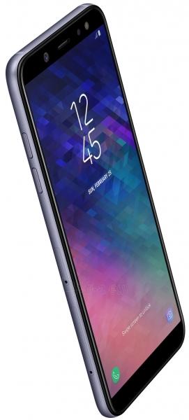 Išmanusis telefonas Samsung A600FN/DS Galaxy A6 Dual 32GB lavender Paveikslėlis 5 iš 5 310820160769