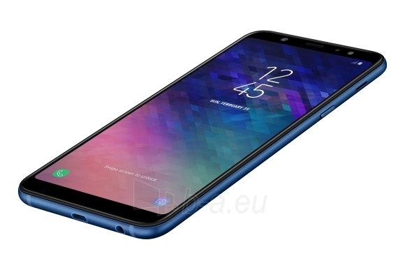 Smart phone Samsung A600FN Galaxy A6 32GB black Paveikslėlis 2 iš 3 310820155327