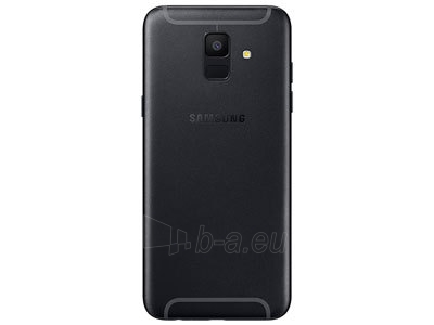 Smart phone Samsung A600FN Galaxy A6 32GB black Paveikslėlis 3 iš 3 310820155327
