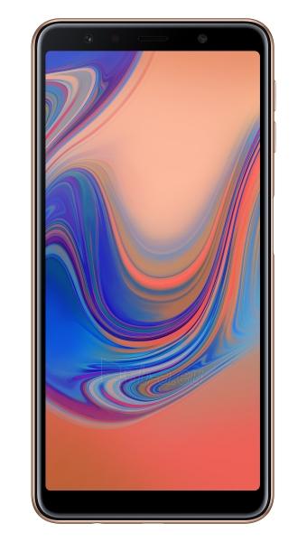 Išmanusis telefonas Samsung A750FN/DS Galaxy A7 (2018) Dual 64GB gold Paveikslėlis 1 iš 6 310820161878