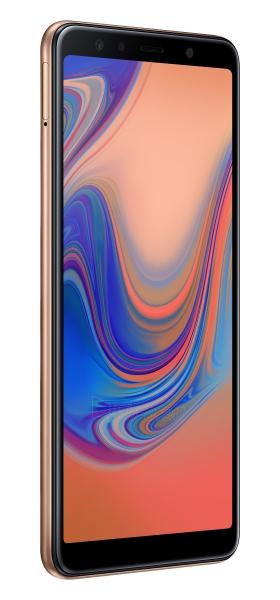 Išmanusis telefonas Samsung A750FN/DS Galaxy A7 (2018) Dual 64GB gold Paveikslėlis 3 iš 6 310820161878