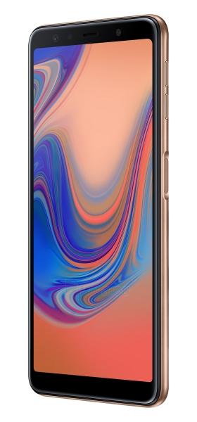 Išmanusis telefonas Samsung A750FN/DS Galaxy A7 (2018) Dual 64GB gold Paveikslėlis 4 iš 6 310820161878
