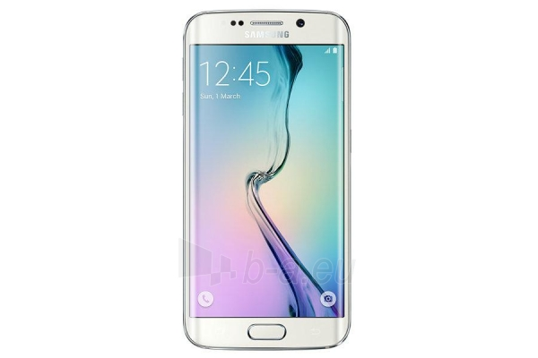 Išmanusis telefonas Samsung G925F Galaxy S6 EDGE white 64gb USED Paveikslėlis 3 iš 5 310820230169