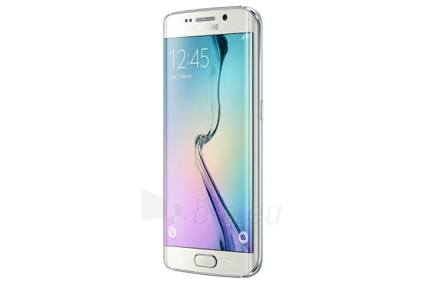 Mobilais telefons Samsung G925F Galaxy S6 EDGE white 64gb USED Paveikslėlis 4 iš 5 310820230169