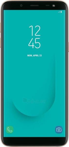 Smart phone Samsung J600FN/DS Galaxy J6 Dual 32GB gold Paveikslėlis 1 iš 6 310820155091