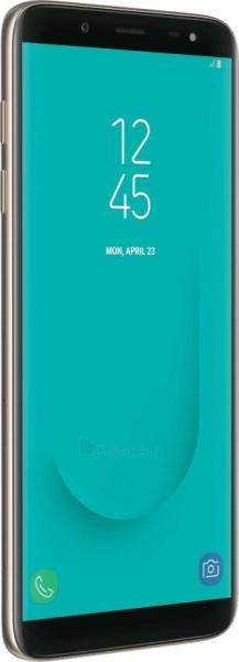 Smart phone Samsung J600FN/DS Galaxy J6 Dual 32GB gold Paveikslėlis 3 iš 6 310820155091