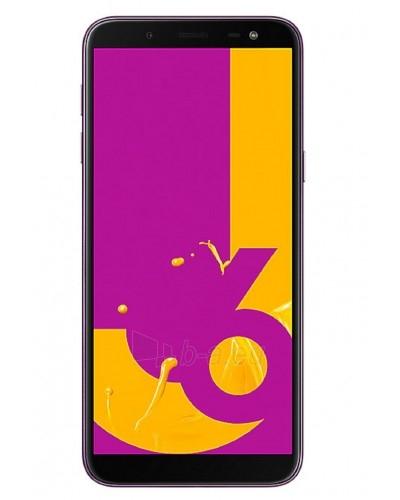 Smart phone Samsung J600FN/DS Galaxy J6 Dual 32GB lavender Paveikslėlis 1 iš 3 310820167762