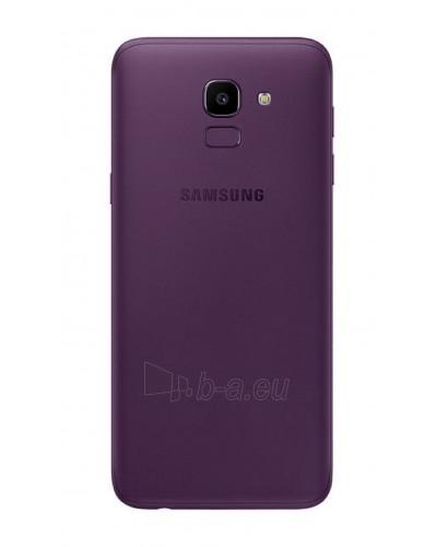 Smart phone Samsung J600FN/DS Galaxy J6 Dual 32GB lavender Paveikslėlis 3 iš 3 310820167762