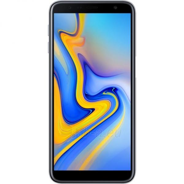 Smart phone Samsung J610FN/DS Galaxy J6+ Dual 32GB gray Paveikslėlis 1 iš 4 310820160634