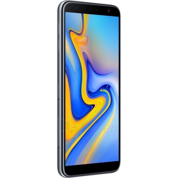 Smart phone Samsung J610FN/DS Galaxy J6+ Dual 32GB gray Paveikslėlis 2 iš 4 310820160634