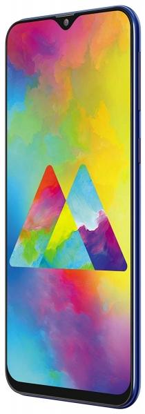 Išmanusis telefonas Samsung M205FN/DS Galaxy M20 Dual 64GB ocean blue Paveikslėlis 2 iš 3 310820175205