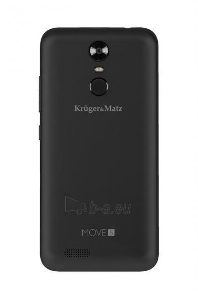 Išmanusis telefonas Smartphone Kruger & Matz Move 8 black mat Paveikslėlis 3 iš 6 310820191825
