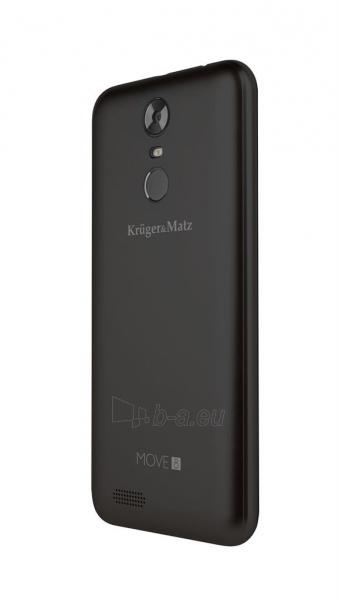 Išmanusis telefonas Smartphone Kruger & Matz Move 8 black mat Paveikslėlis 6 iš 6 310820191825