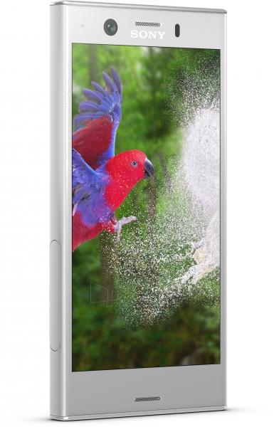 Išmanusis telefonas Sony G8441 Xperia XZ1 Compact white/silver Paveikslėlis 2 iš 3 310820160488