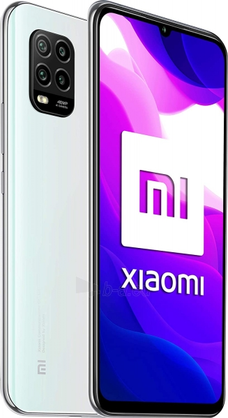 Mobilais telefons Xiaomi Mi 10 Lite 5G Dual 6+64GB dream white Paveikslėlis 2 iš 6 310820225334