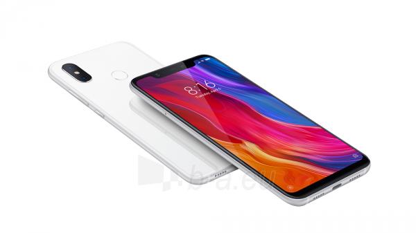 Išmanusis telefonas Xiaomi Mi 8 64G White BAL Paveikslėlis 1 iš 2 310820151592