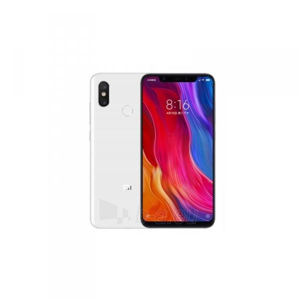 Mobilais telefons Xiaomi Mi 8 Dual 6+64GB white Paveikslėlis 1 iš 2 310820167744