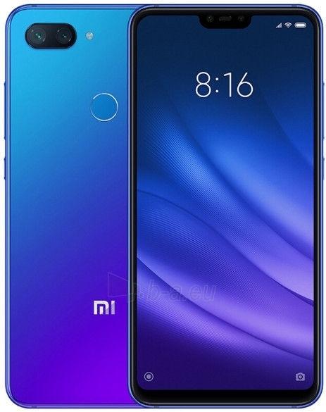 Išmanusis telefonas Xiaomi Mi 8 Lite Dual 4+64GB aurora blue Paveikslėlis 2 iš 3 310820167734